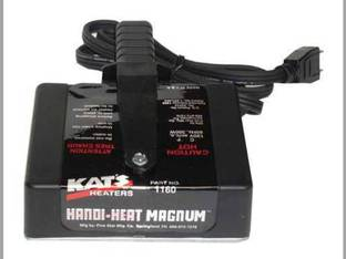 "Kat's Handi-Heat Magnum Magnetic Heater 3"" x 5"" 300 Watt 120V"