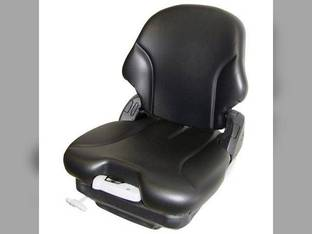 Seat Assembly - Air Suspension Fabric Black Case 440 95XT 90XT 450 1845 1840 85XT 1845C 410 430 420 John Deere 325 315 270 260 240 250 320 Bobcat S250 T190 S175 S150 S185 S130 S160 S205 Caterpillar
