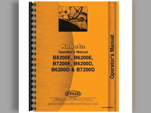 manual sn 125076 for kubota manual all states ag parts de soto iowa rh fastline com Kubota B7100 Kubota B7200 Specs