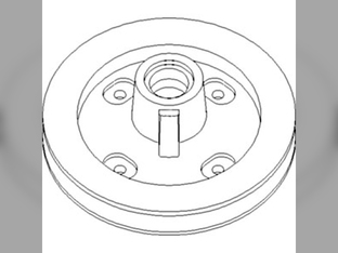 Pulley, Slip Clutch