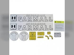 Decal Set - Mylar Farmall Super H International Super H