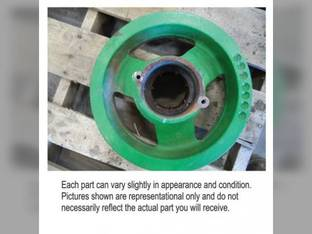 Used Feeder House Front Drive Shaft Pulley John Deere S670 STS S670 STS 9870 STS 9870 STS 9770 STS 9770 STS S690 STS S690 STS S680 STS S680 STS CE19957