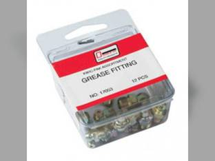 Grease Fitting Assortment - 23 Zerk Fittings in 8 Sizes