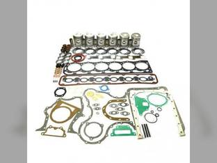 """Engine Rebuild Kit - Less Bearings - .020"""" Oversize Pistons - 8/76-3/86 Ford 7910 TW5 8210 401 8700 BSD666 TW10 A64"""