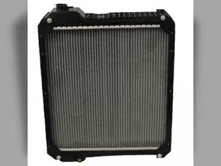 Radiator - Aluminum Core with Plastic Tank Case IH MX120 MX100 MX135 MX110 MX170 MX150 135690A3