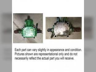 Used Tee Gear Box Assembly John Deere 995 AE73051