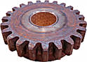 Idler Ground Drive Spur Gear,  23 Tooth