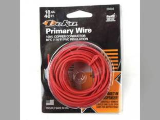 Wire Primary 18 Gauge 40' Red