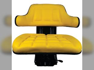 Seat, Assembly, Flip Up Seat Bottom, Wrap-Around Back