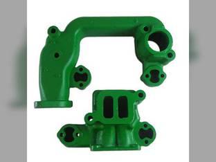 Manifold, 2 Cylinder, Gas Intake/Exhuast Set