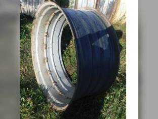 """Used 18"""" x 42"""" Double Bevel Rear Rim Silver"""