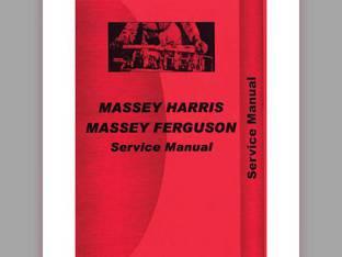 Service Manual - 101 Super Massey Harris 101 101
