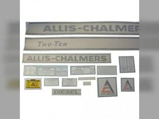 Decal Set 210 Two-Ten Vinyl Allis Chalmers 210