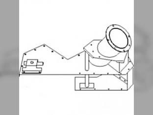 Auger Housing - Upper Clean Grain John Deere CTS CTSII 9510 9500 SH 9500 9410 9400 9510 SH AH235411