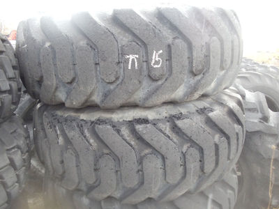 GOODYEAR 12 PLY QTY(4)15.5-25 FRONT END LOADER TIRES USED