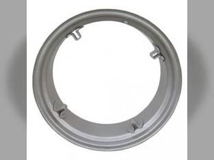 """7"""" x 24"""" 4 Loop Rear Rim Silver Mist International Cub Lo-Boy Cub 114717C1"""