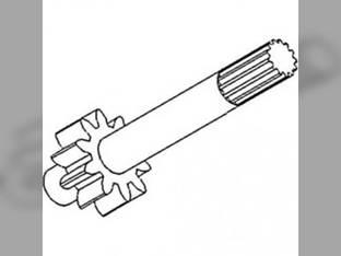 Hydraulic Pump Drive Shaft Allis Chalmers 190XT 190 210 200 220 70253831