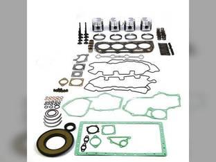 Engine Rebuild Kit - Less Bearings New Holland LS175 L215 L218 L220 C175 L175 TC55DA Case SR175 420CT 420 SV185 SR160 Case IH DX55 Takeuchi TW60 Perkins 404C-22T Shibaura N844LT
