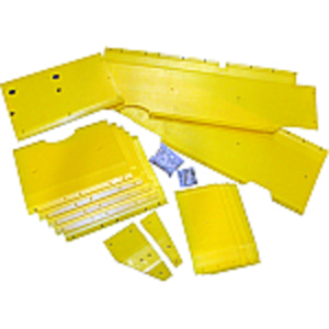 Poly Skid Plate Kit - 25' Header