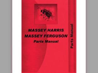 Parts Manual - 33D Massey Harris 33 33