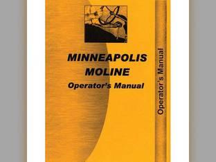 Operator's Manual - ZB Minneapolis Moline ZB ZB