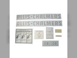 Decal Set CA Vinyl Allis Chalmers CA