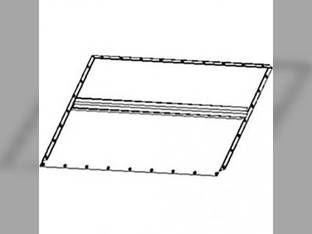 Feeder House Floor Sheet - Upper Back John Deere 7700 7701 7720 7721 HUBBJD7700