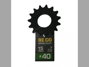 Weld-On Sprocket #40 Chain 15 Tooth V-Series Hub