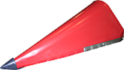 Cornhead Snout - Right Hand Outer with Point, Poly