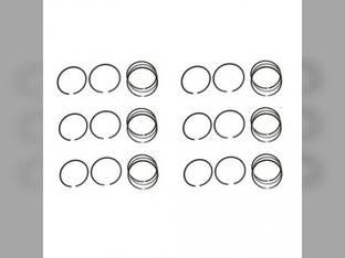 """Piston Ring Set - .040"""" Oversize - 6 Cylinder Ford 6100 6000 Oliver 1600"""