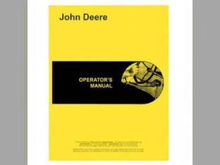 Operator's Manual - 730 John Deere 730 730 OMR20700