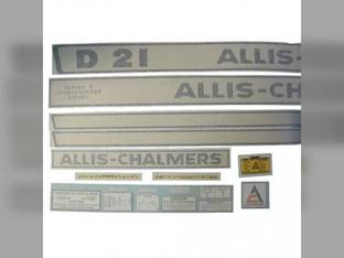 Decal Set Allis Chalmers D21