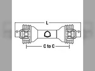 "Universal PTO Driveline 1-3/8"" 6 Drive-Line Edcor John Deere A-BP102-1010-A D756260 ECC23 14006247 ECC2321 PM14006247 PM14046260"