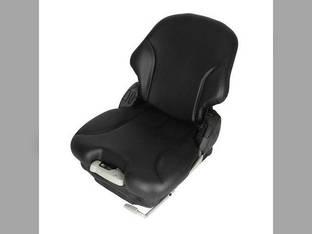Seat Assembly - Mechanical Suspension Vinyl Black Case 450 1845 1840 85XT 1845C 440 90XT 410 430 420 John Deere 325 260 315 270 240 250 320 Bobcat S150 S185 S250 T190 S175 S130 S160 S205 Caterpillar