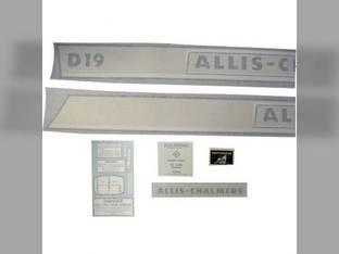 Decal Set Allis Chalmers D19