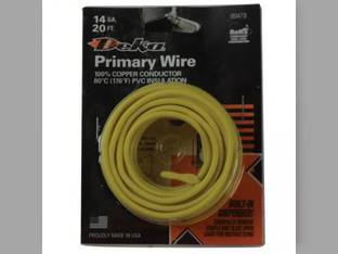 Wire Primary 14 Gauge 20' Yellow