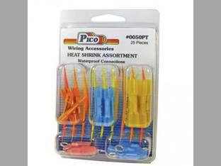 Heat Shrink Waterproof Butt Connectors - 25 Pieces