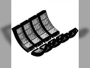 Concave KX7 Set - Standard Tough-Thresh Cereal/Small Seed Kit - Kondex Case IH 9230 8230 AFX7010 9120 7230 7120 AFX8010 8120 84563344