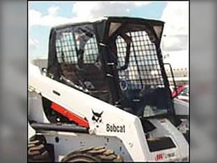 All Weather Enclosure Replacement Door Skid Steer Loaders 540 640 740 Hook & Loop Models Bobcat 840 640 540 740