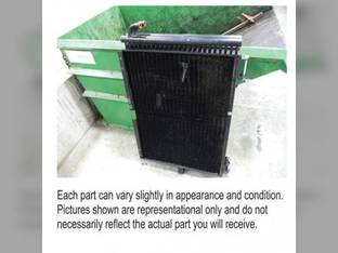 Used Hydraulic Oil Cooler Case IH 5088 6088 7088 87559913