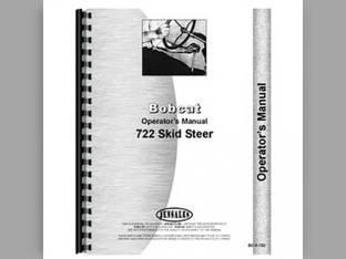 Operator's Manual - 722 Skid Steer Bobcat 722