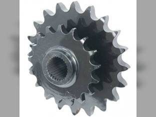 Sprocket - Double Left Hand Rotor Drive Case IH RBX462 RB454 RBX453 RB464 RBX463 RBX452 New Holland BR750 BR7060 BR7070 BR740A BR750A BR740 87664057 86610110