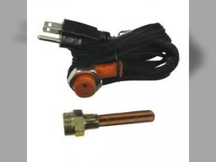 """Frost Plug Heater - 3/8"""" 400 Watt 120V Case 730 830 930 430 Minneapolis Moline U302 Jet Star 3"""