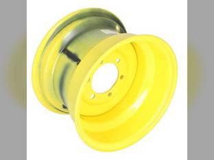 "10"" x 15"" Front Rim - Yellow new John Deere 2440 1520 2030 4030 4020 4000 4040 4430 2640 3020 4320 2630 2750 1020 4230"