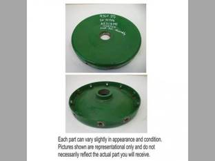 Used Discharge Beater and Accelerator Roll Hub John Deere 9760 STS 9750 S550 S670 9870 9670 9750 STS S660 9650 STS 9560 STS 9660 STS 9860 STS S680 9770 9570 AH208495