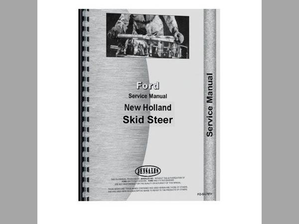 new holland l225 service manual