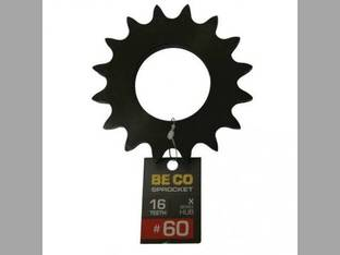 Weld-On Sprocket #60 Chain 16 Tooth X-Series Hub