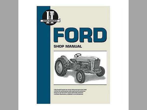 Manual sn 100539 for Ford Manual All States Ag Parts DE SOTO