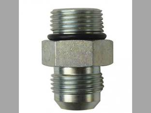 "Hydraulic Adapter 3/4"" Male JIC 37° x 3/4"" Male O-Ring 1-1/16-12 x 1-1/16-12 NPT"
