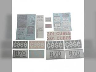 Decal Set Case 870